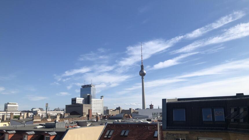 Der sog. Alexanderturm