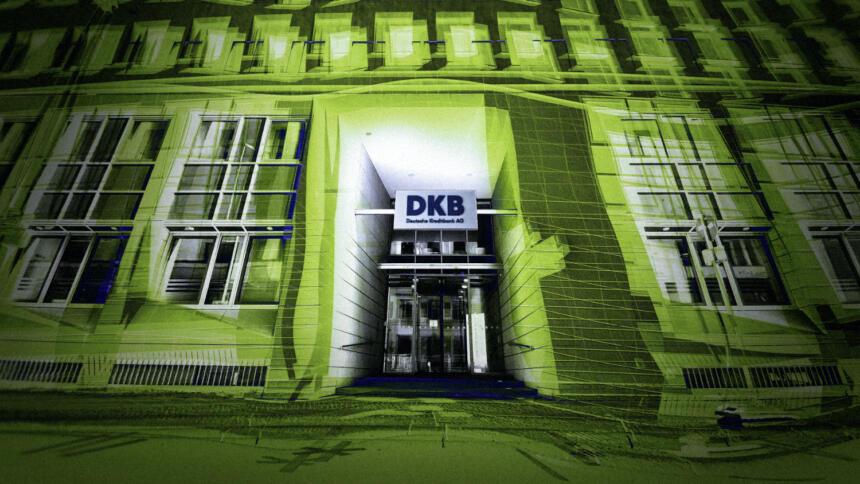 Auch die Website und das Online-Banking der Deutschen Kreditbank legten die Angreifer teilweise lahm.