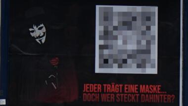 Plakat in Oberhausen