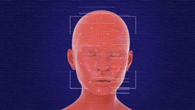 Stilisierte Gesichtserkennung