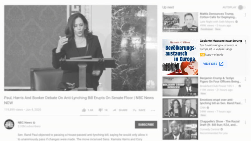 Verschwörungsmythen gegen Bezahlung auf Youtube