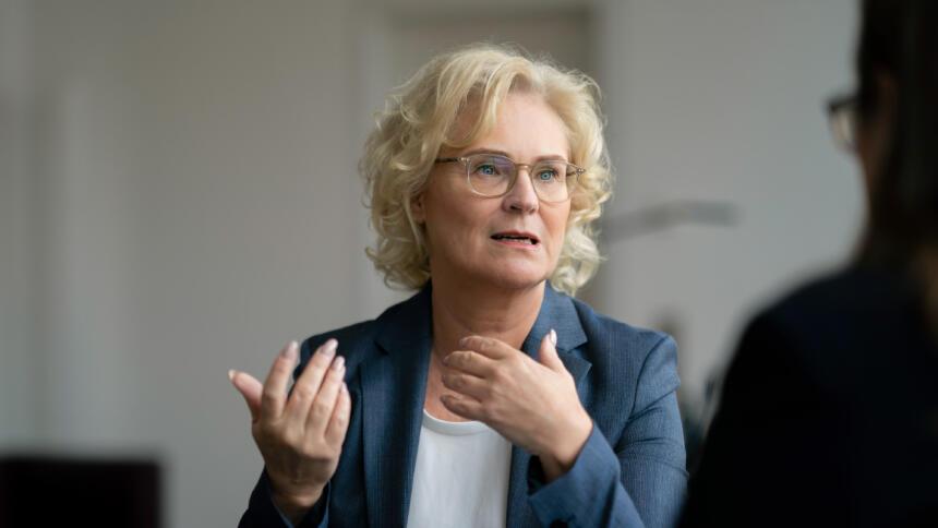 Justizministerin Lambrecht