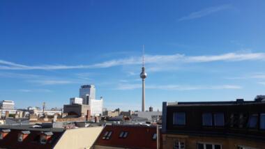 Ausblick auf Fernsehturm