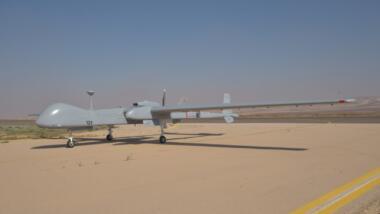 Heron TP Drohne