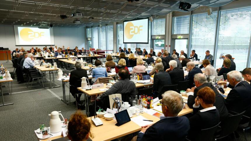 Plenum des Fernsehrats in Mainz