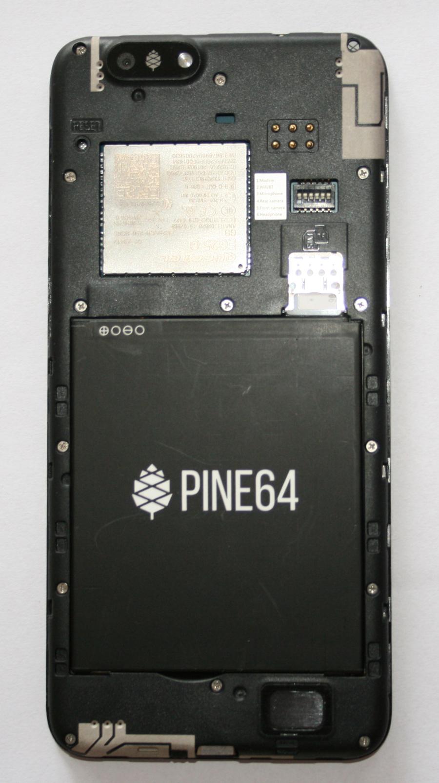 pine phone rueckseite