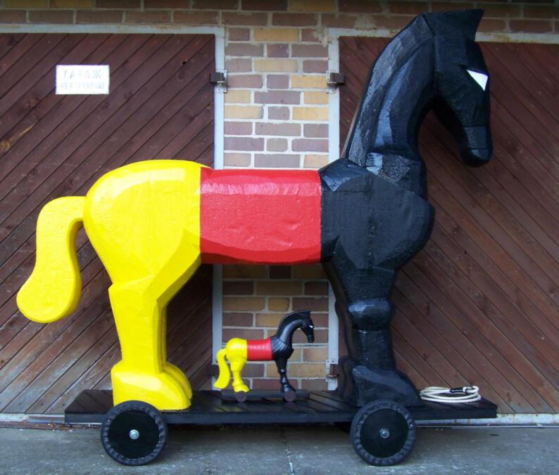 pferd-modell