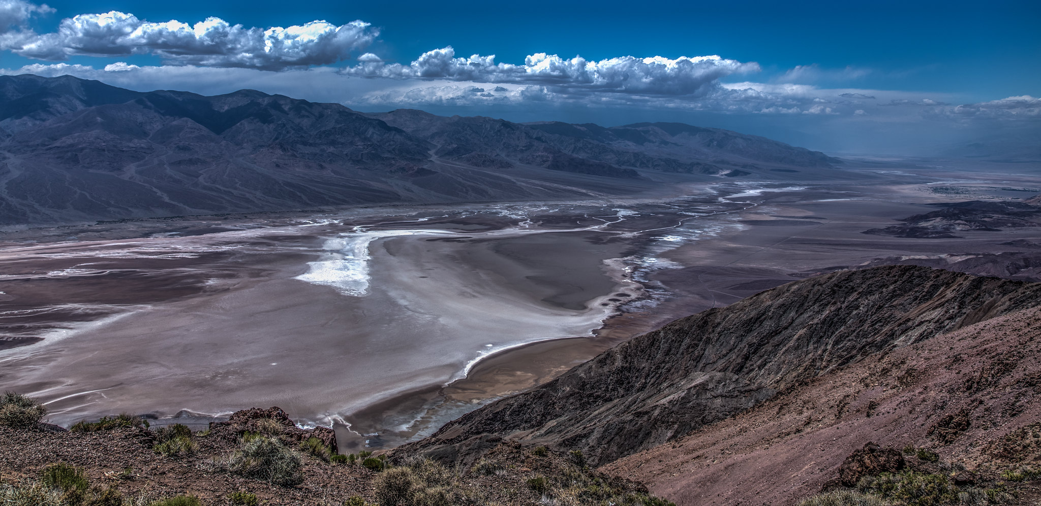 Blick in das Death Valley