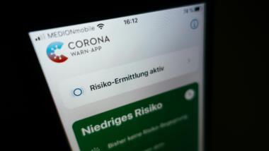 Die deutsche App zur Kontaktverfolgung