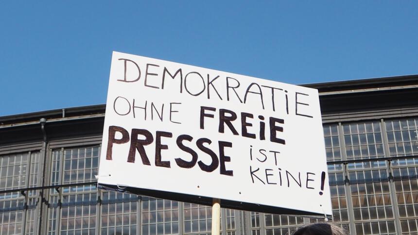 Demokratie ohne freie Presse ist keine (Landesverrats-Demo)
