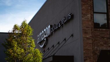 Amazon-Lagerhalle
