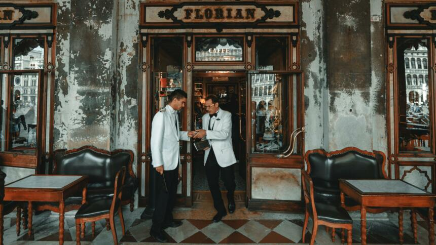 Café in Venedig
