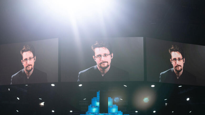 Edward Snowden Konferenz