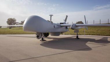 Harfang-Drohne