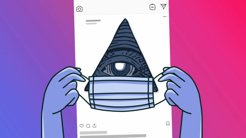 Verschwörungsmythen auf Instagram