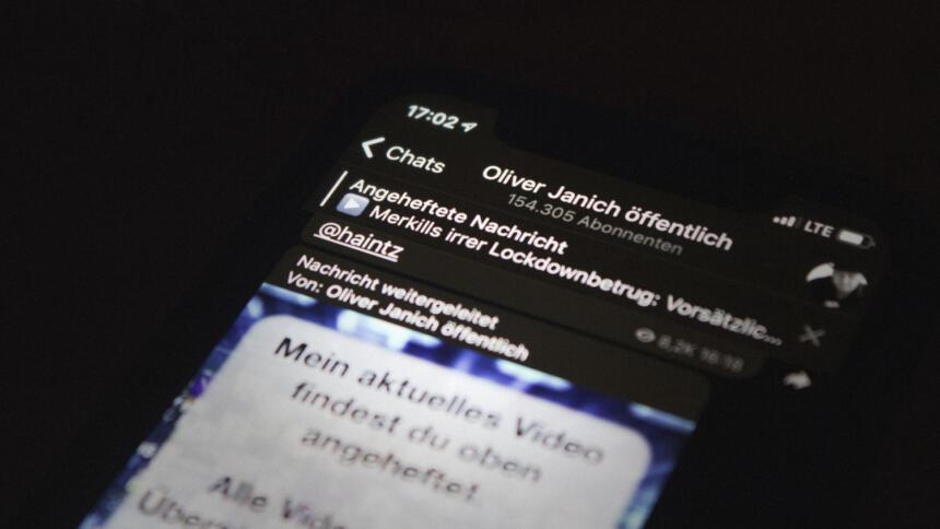 Oliver Janichs Telegram-Kanal