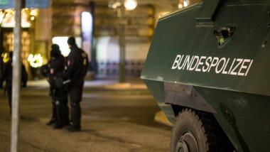 Räumpanzer der Bundespolizei