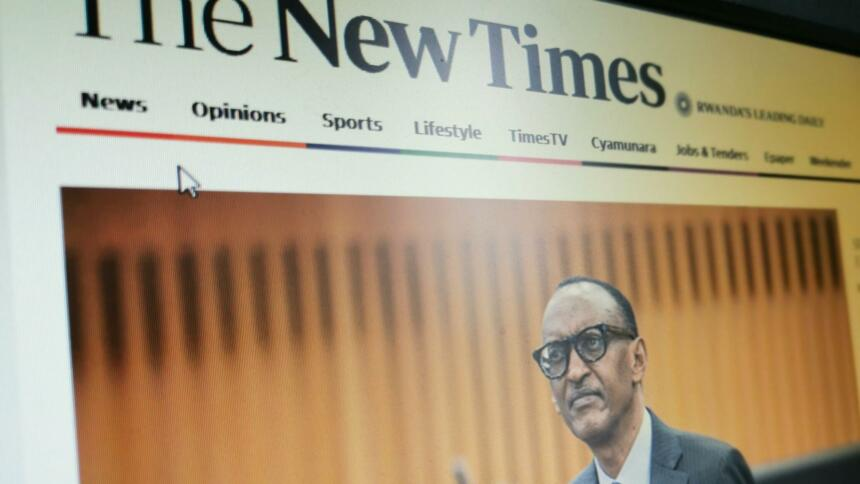 The New Times in Rwanda