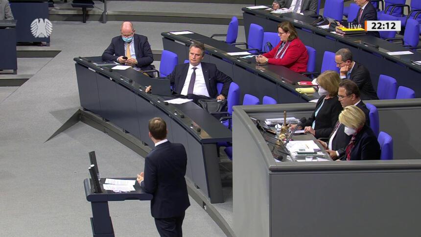 Screenshot Parlamentsfernsehen