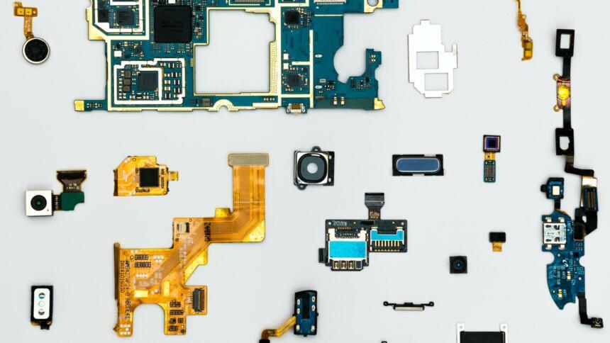 Kleine Hardware-Teile