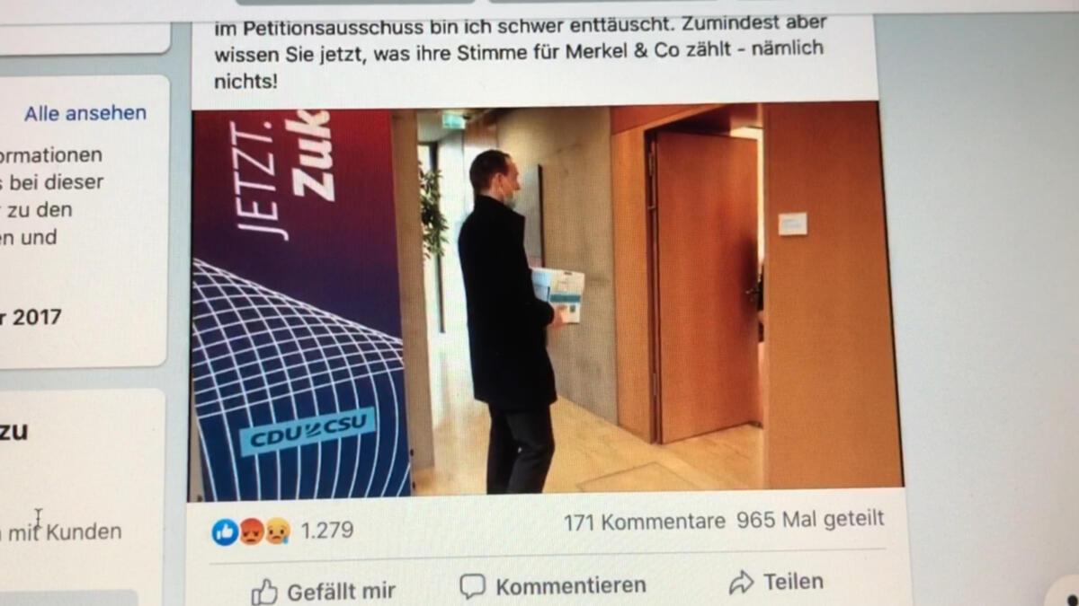 Huber bei der CDU/CSU