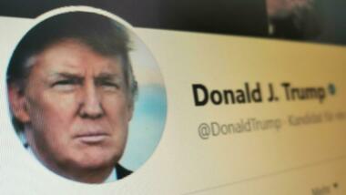 Trump-Werbung