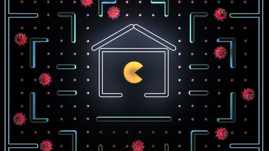 Coronavirus-Pacman
