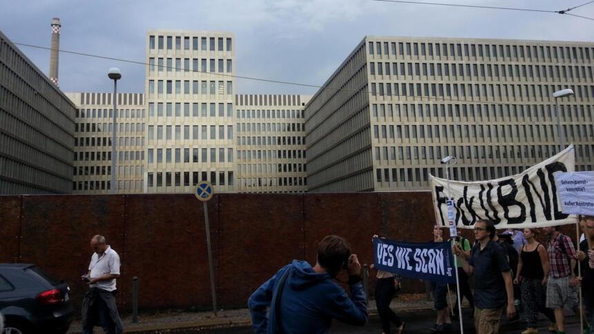 Demo vor BND