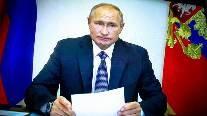 In Russland wird mit den Nachrichten des Desinformationsnetzwerkes der politische Kurs des Kreml flankiert.