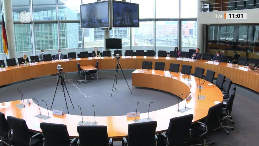 Ausschuss Saal