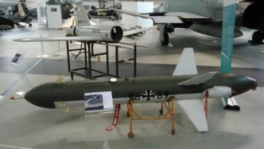 EIne der 189 Drohnen des Typs CL-289 schaffte es ins Museum.
