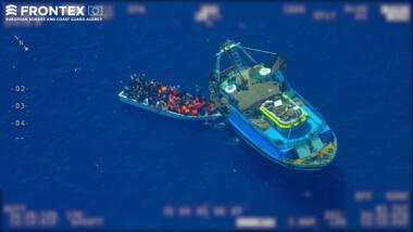 Frontex will verschiedene Datenquellen zusammenführen und Auffälligkeiten erkennen. Auch Bilder von Drohnen und Satelliten können eingebunden werden.