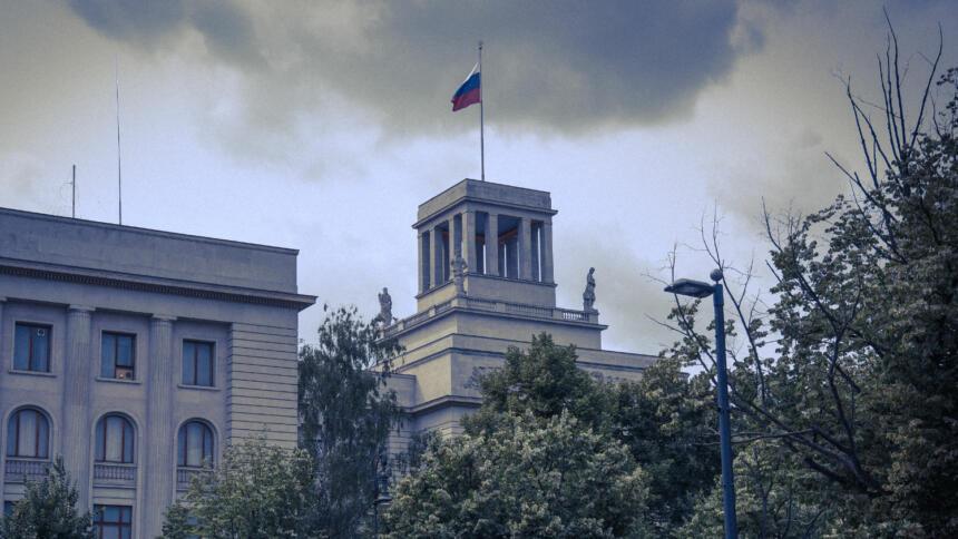 """Die Botschaft der Russischen Föderation in Berlin teilte uns mit, zu """"inoffizieller Medienberichterstattung"""" äußere man sich grundsätzlich nicht."""