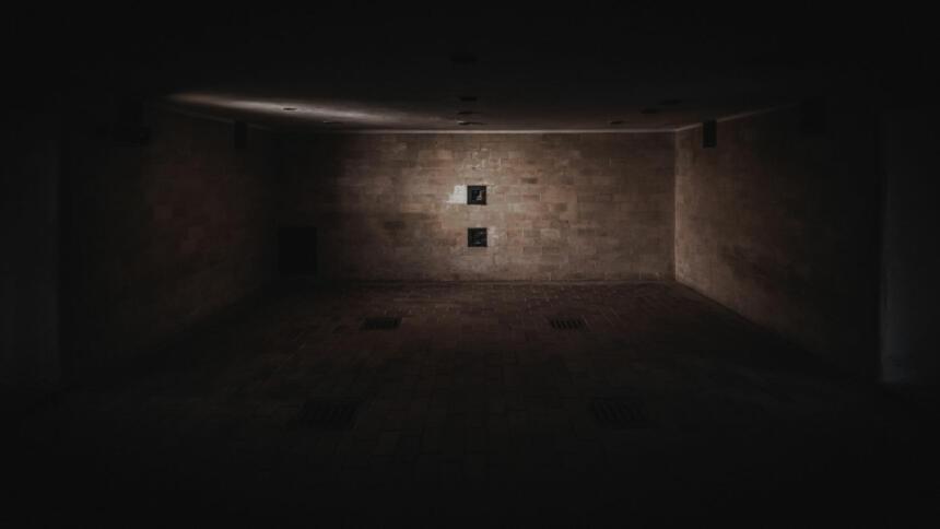 Gaskammer im KZ Dachau