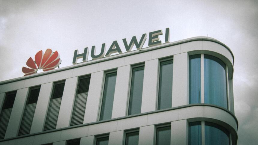 Huawei-Europazentrale in Düsseldorf