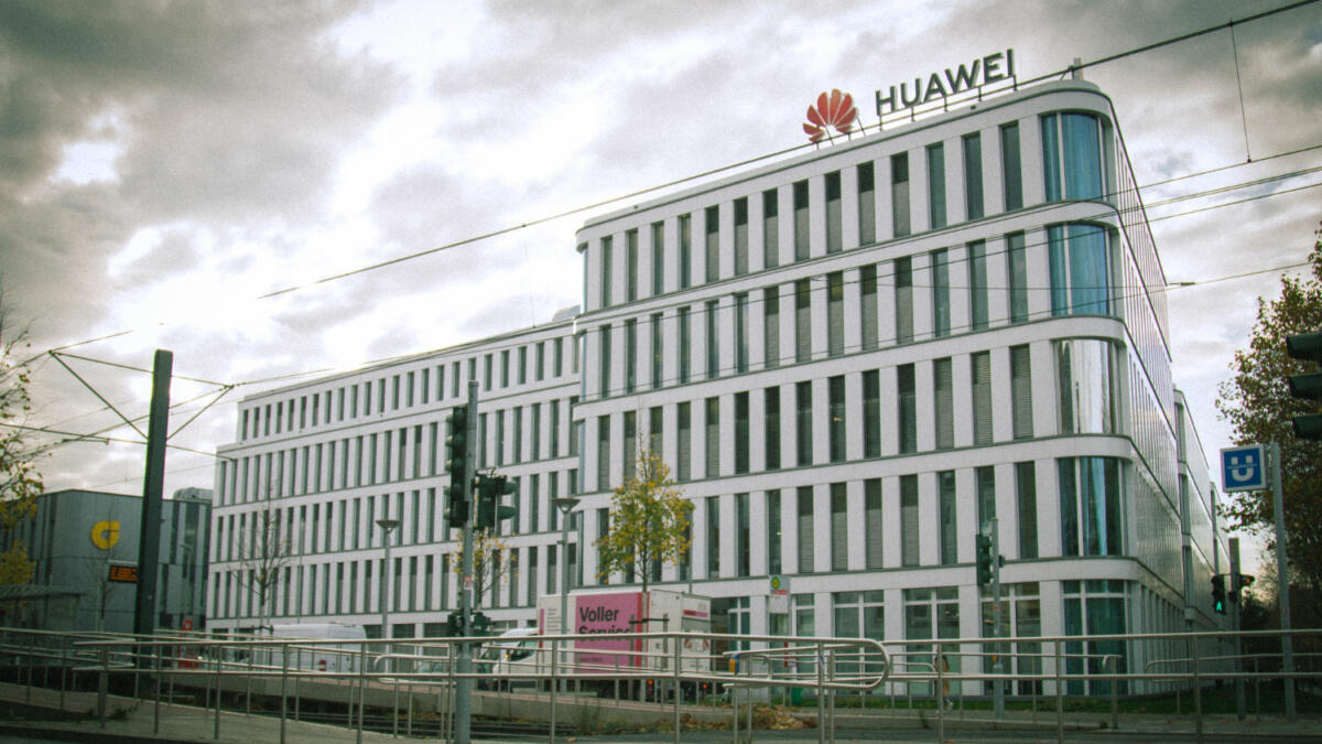 Europazentrale von Huawei in Düsseldorf