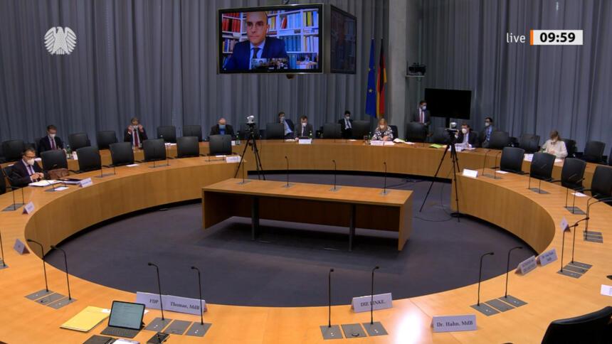 Innenausschuss Bundestag