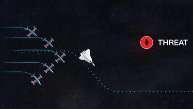 MUT-Tests mit Zieldarstellungsdrohnen von Airbus.