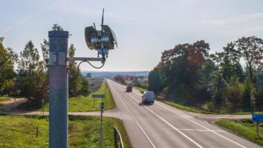 Kamera an Straße