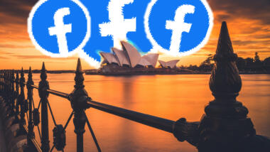 Australien und Facebook