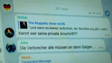 Hass auf Bundestagspräsident Wolfgang Schäuble