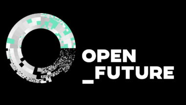 "Logo des Think Tanks ""Open Future"""