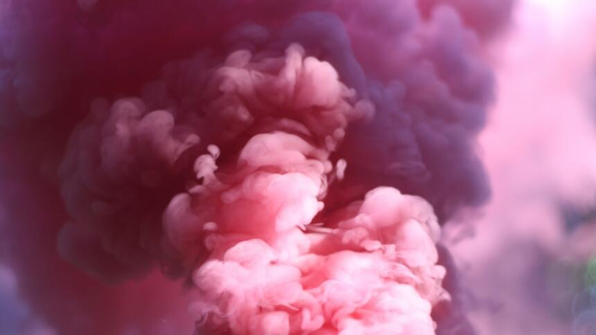 Nebel in pink