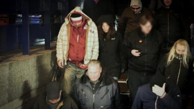 Torsten Donnerstein nach einer Demonstration