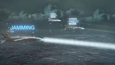"""Airbus und MBDA entwickeln Drohnenschwärme mit verschiedenen Fähigkeiten zur """"Luftüberlegenheit""""."""