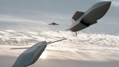 """""""Remote Carrier"""" von MBDA im Modell."""