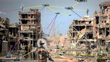 TaUAS-Studie zu Drohnenschwärmen beim Heer.