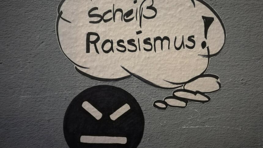 streetart berlin rassismus