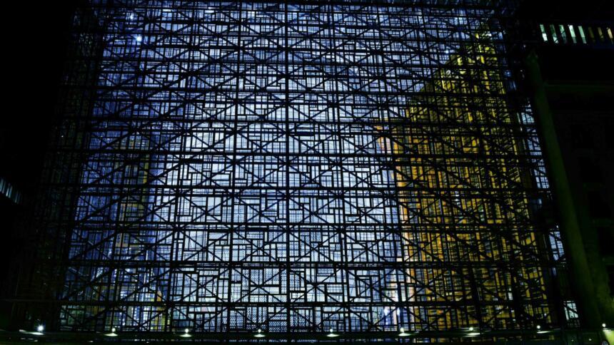 Das Gebäude des Europäischen Rates