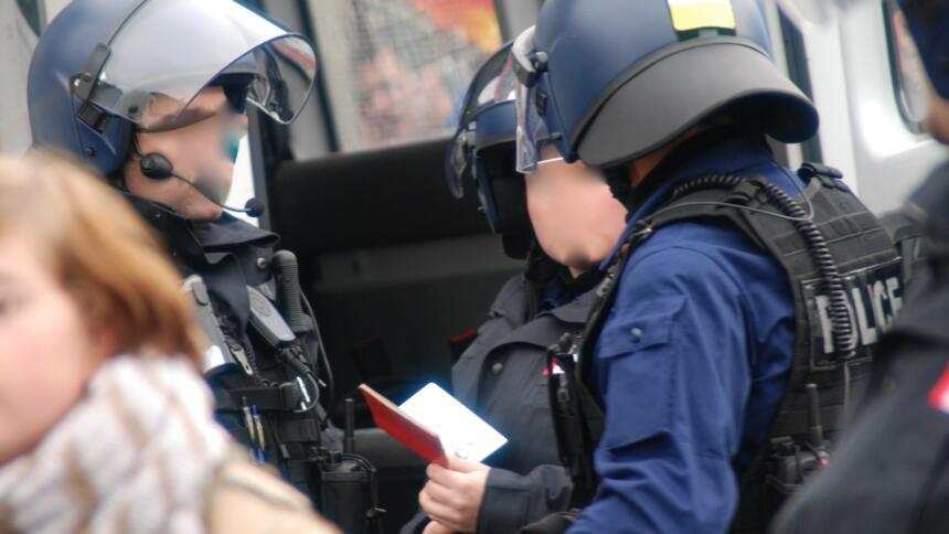 Ausweiskontrolle Polizei
